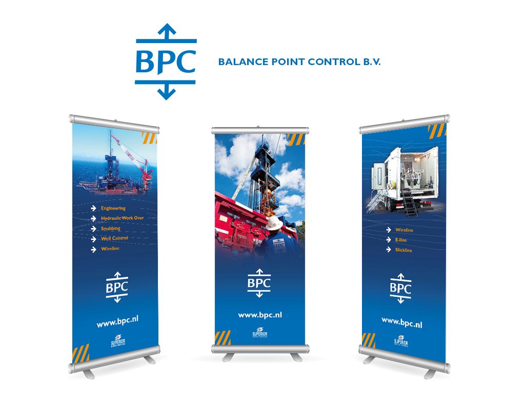 Ontwerp BPC banners