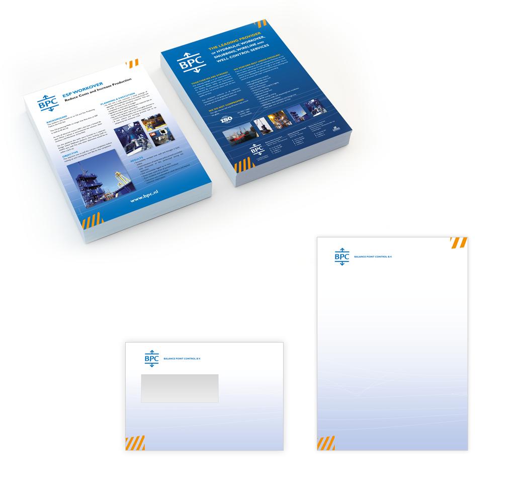 Ontwerp BPC huisstijl en folders