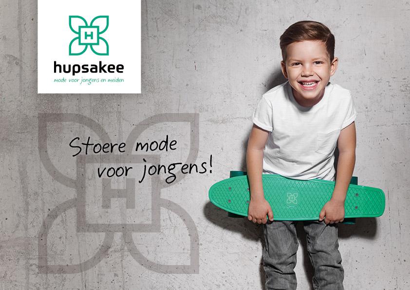 Logo en huisstijl ontwerp Hupsakee