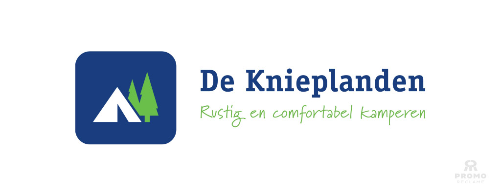 Restyling logo Camping de Knieplanden