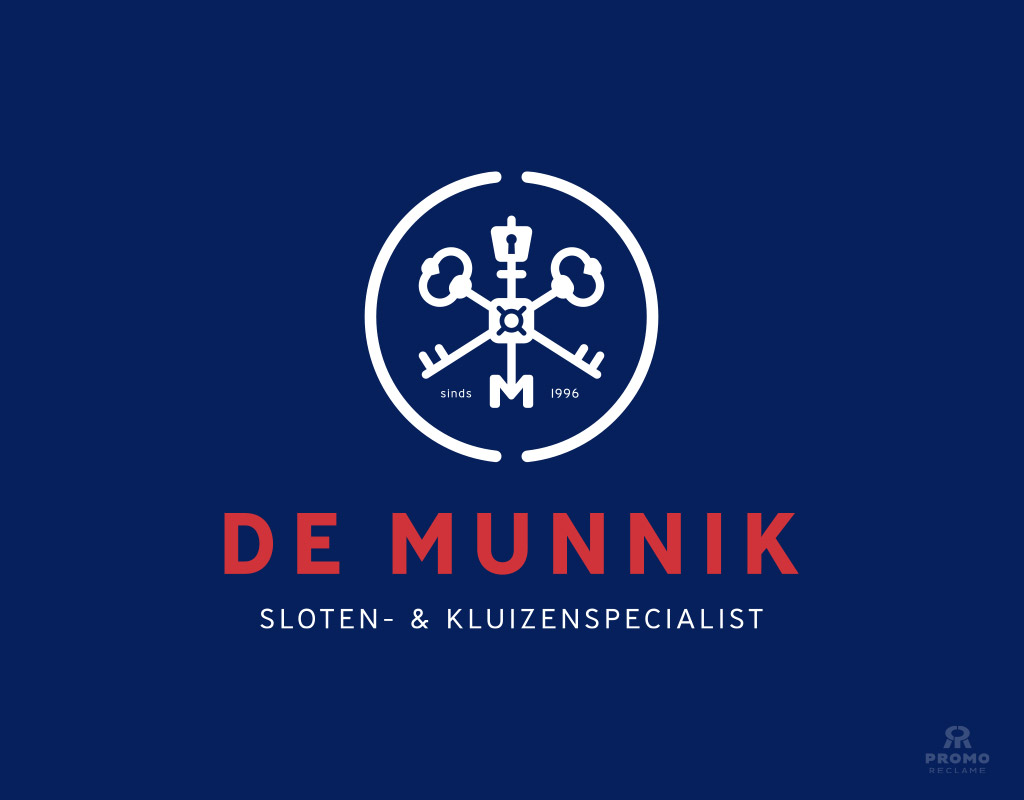Logo ontwerp De Munnik - Sloten- & Kluizenspecialist