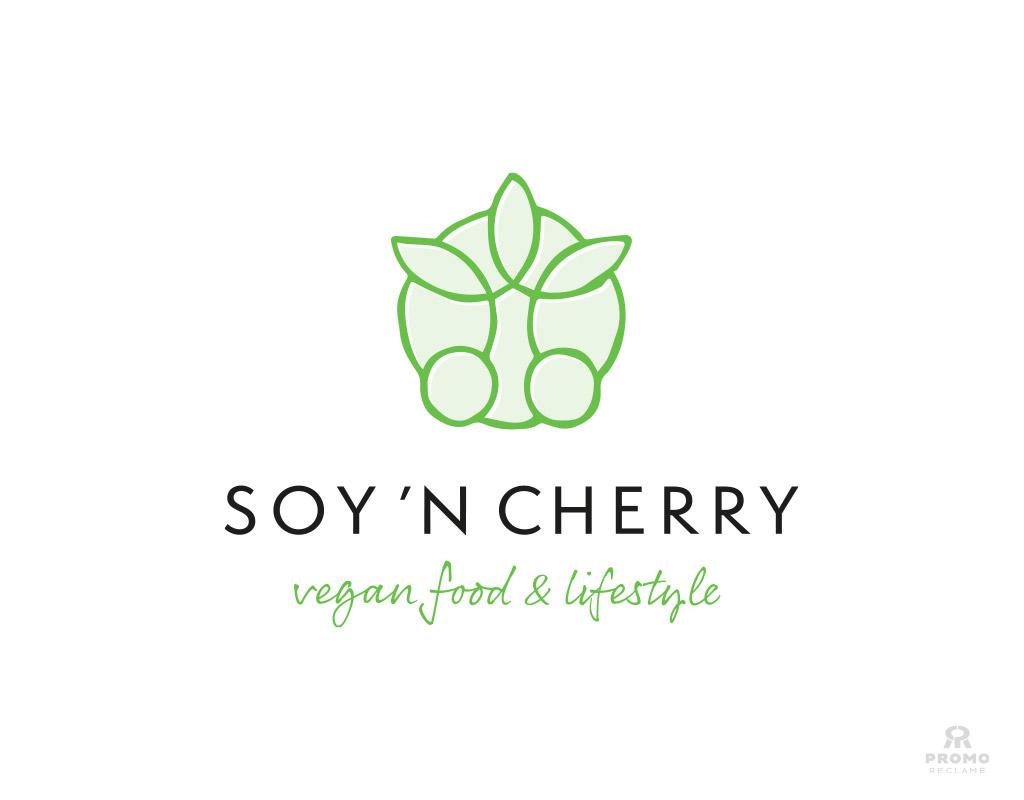 Logo ontwerp Soy 'n Cherry