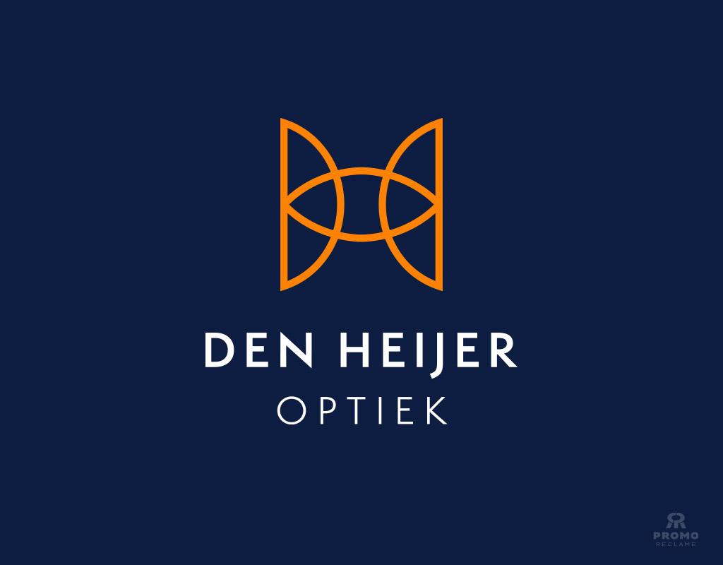 Den Heijer Optiek logo ontwerp
