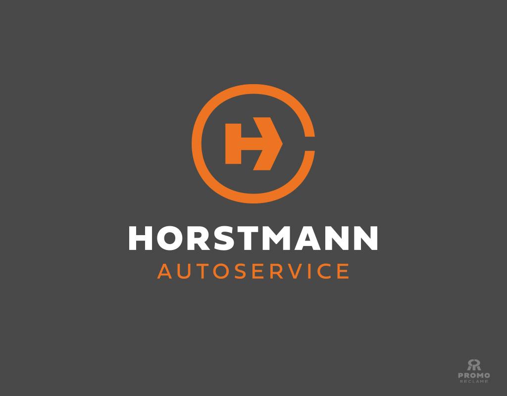 Horstmann Autoservice logo ontwerp