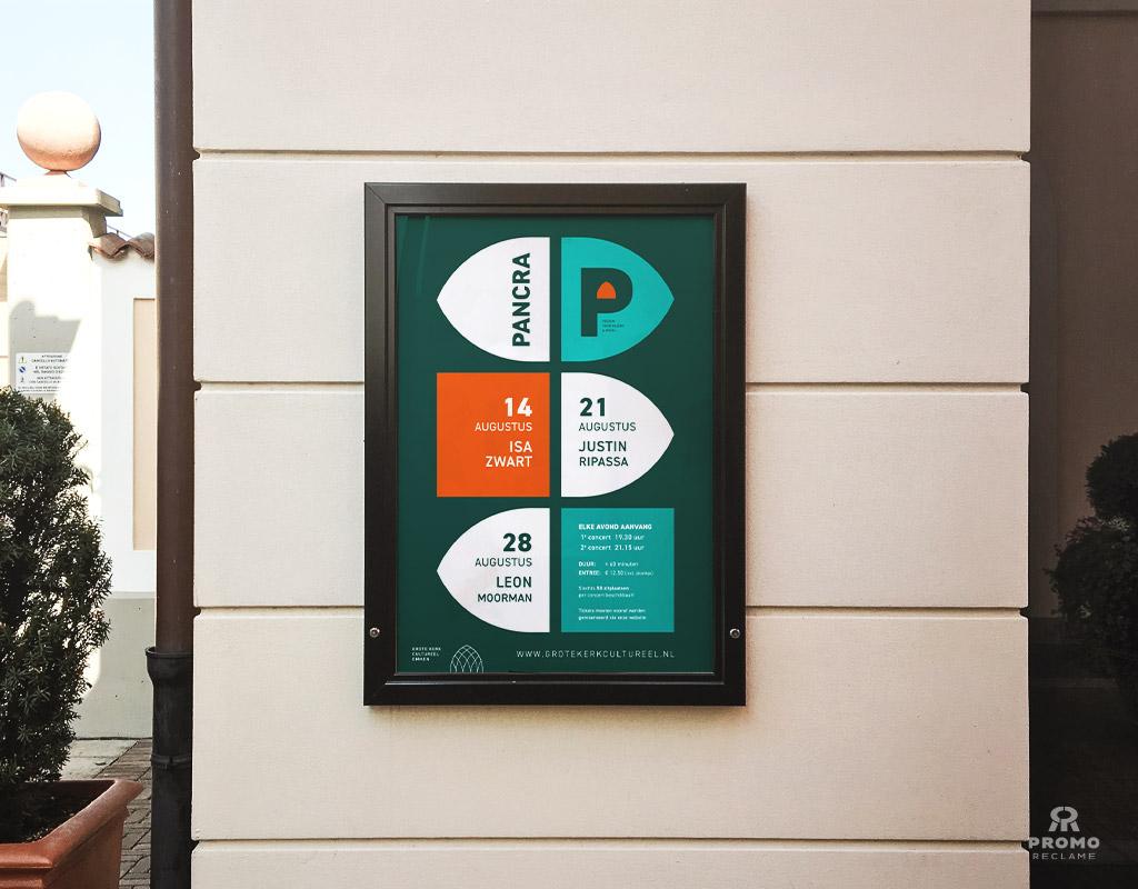 Pancra poster ontwerp