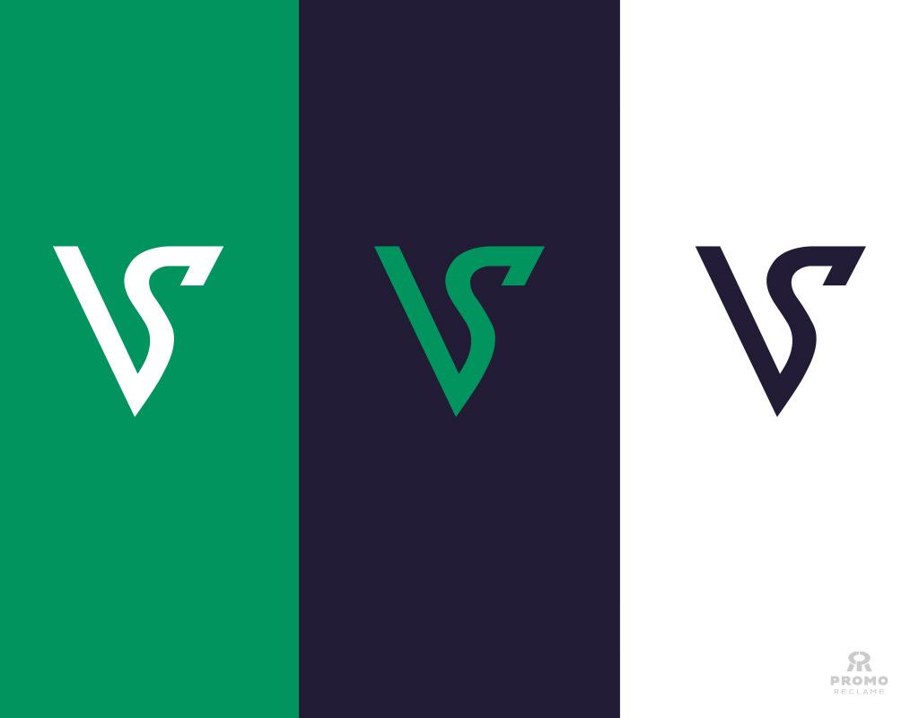 Sander de Vries Financiële diensten logo ontwerp