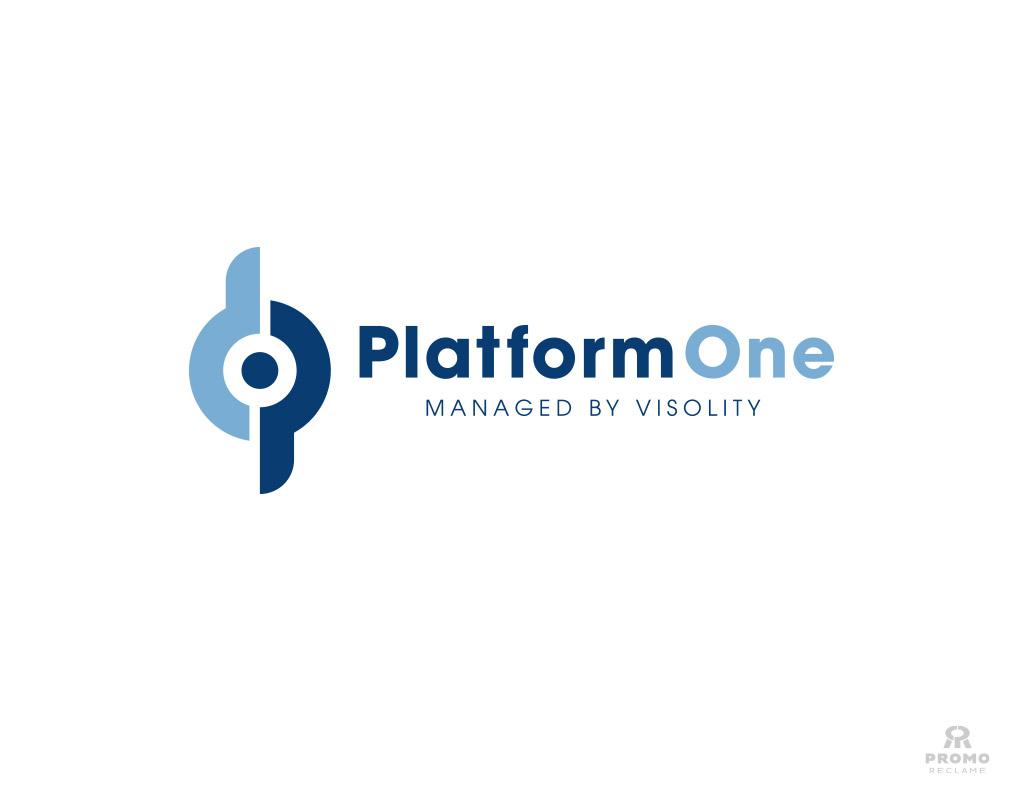 Logo ontwerp PlatformOne
