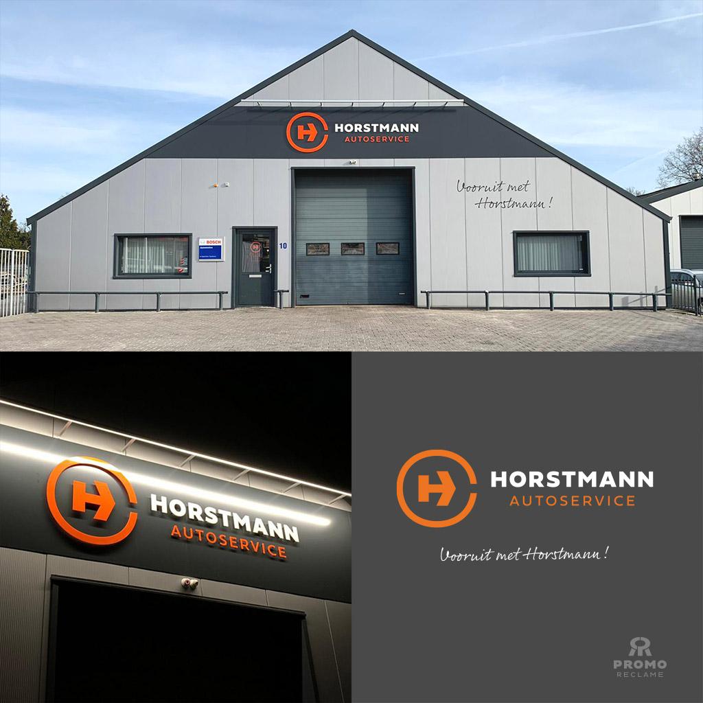 Reclame ontwerp Horstmann Autoservice