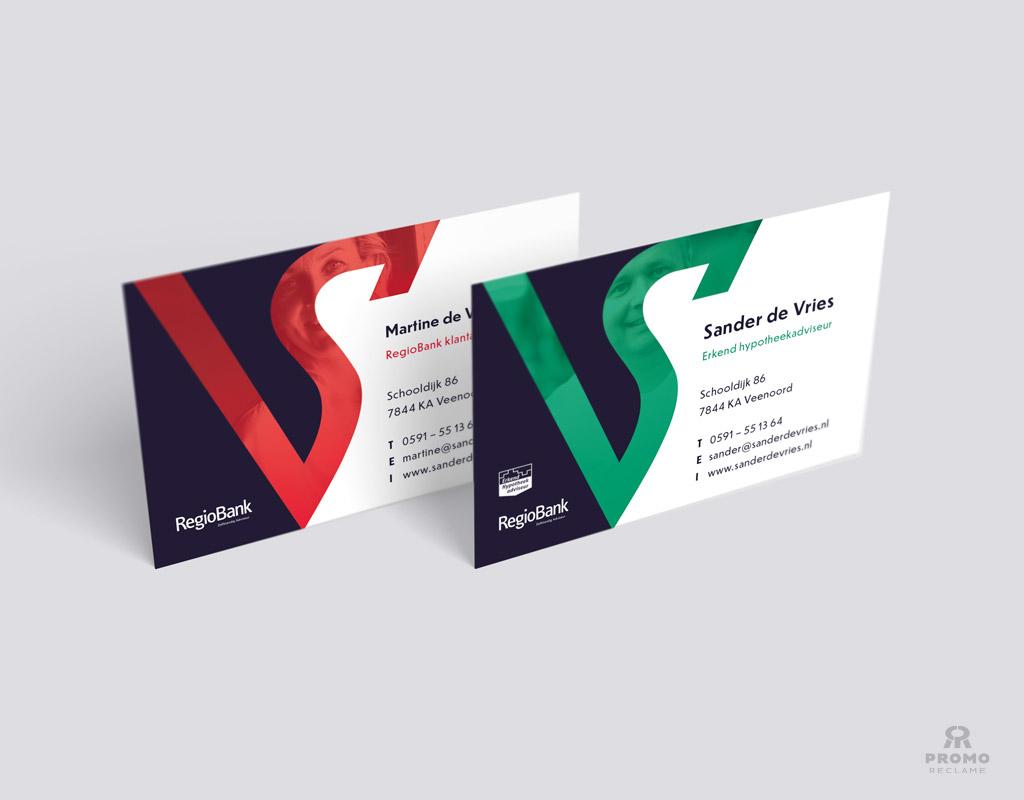 Visitekaartje ontwerp Sander de Vries